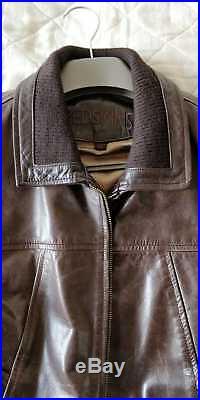 - Blouson Veste Marron en Cuir pour Homme Redskins Taille XL