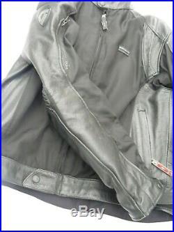 Blouson Veste Moto Renfort Cuir Rev'it 54