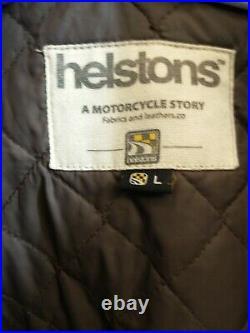 Blouson Veste Moto en Cuir Helstons