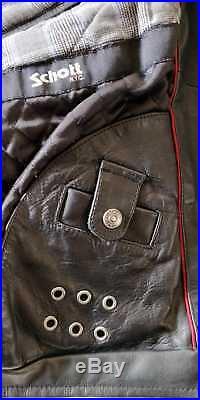 - Blouson Veste Perfecto en Cuir pour Homme Schott NYC Taille M