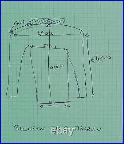 Blouson / Veste Pour Homme En Cuir Marron Taille L