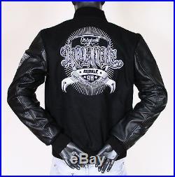 Blouson / Veste Teddy Rumble NEUF (S/M/L) bi matière cuir / laine