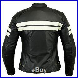 Blouson Veste Vintage Femme Biker Moto Cuir Véritable Taille 38-46