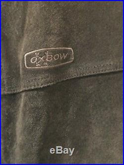 Blouson Veste en Cuir Véritable OXBOW taille L