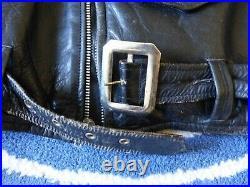 Blouson américain vintage US 50's Leather Jacket 1950 Horsehide Perfecto