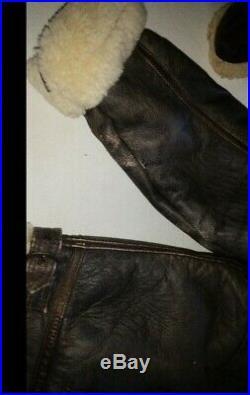 Blouson aviateur en cuir véritable homme veste