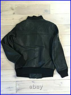 Blouson cuir Roen type MA-1 taille 46 (Mastermind, Neighborhood)