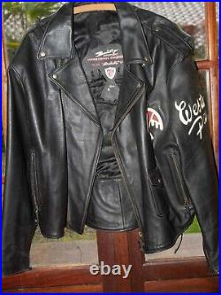Blouson cuir Western Passion Johnny Hallyday