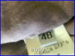 Blouson cuir giorgio brato 48