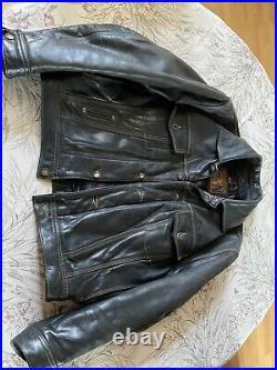 Blouson cuir redskins