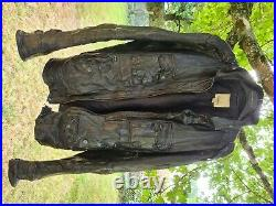 Blouson cuire diesel homme taille m