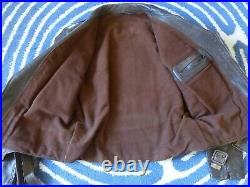 Blouson de moto français 1950 Vintage leather Jacket Perfecto