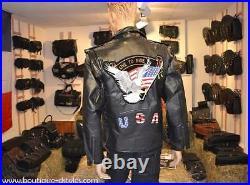 Blouson en cuir Aigle / live To Ride M à 3XL biker harley custom