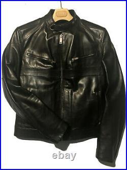 Blouson en cuir Gucci (Tom Ford) taille 48 (café racer)