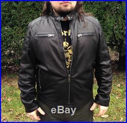 Cuir Cuir Biker Jacket Type Leather Blouson En Xl Schott D'agneau TtCqxt5wS