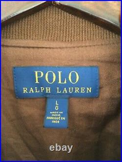 Blouson en daim Ralph Lauren, neuf, taille L