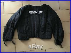 Blouson moto SEGURA en cuir avec sous veste matelassée adaptable Taille XXL
