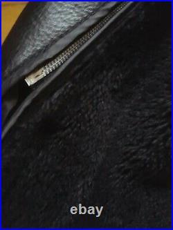 Blouson moto cuir perfecto Schott fourré interieur amovible T 44 made in usa