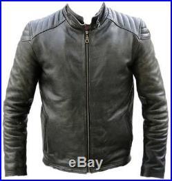 Blouson moto, veste, cuir, moto, veste en cuir, Taille S M XL 2XL 3XL