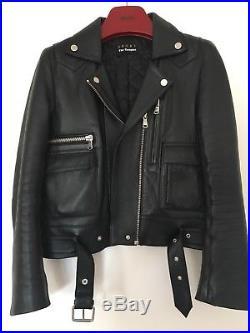Blouson perfecto Cuir THE KOOPLES veste T. 0 / XS / 34-36 Leather Jacket