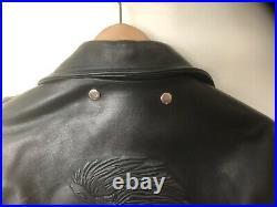 Blouson perfecto en cuir noir Harley-Davidson TRES BON ETAT TAILLE 50