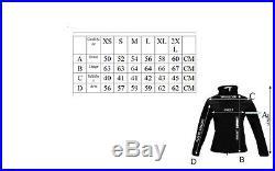 Blouson pour femmes veste VINTAGE moto en cuir STYLE HARLEY NEUF L XL
