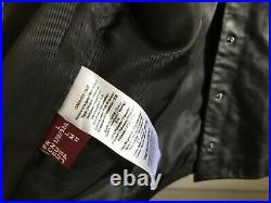 Blouson veste Bomber cuir noir COMPTOIR DES COTONNIERS t. L NEUF