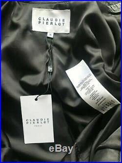 Blouson veste CLAUDIE PIERLOT en cuir neuf avec etiquette manteau