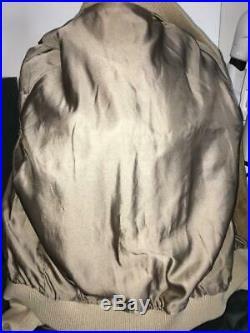 Blouson veste HERMES taille 48 en cuir peau de porc