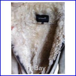 Blouson veste bombardier cuir/agneau isabel Marant T36