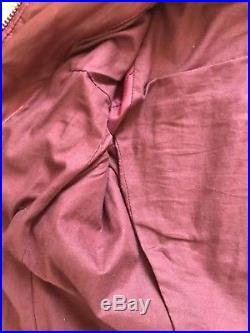 Blouson veste cuir Kady Isabel Marant Étoile bordeaux 38