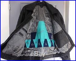 Blouson veste cuir agneau noir homme BROOKLANDS T54 (XL) NEUF