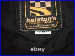 Blouson veste cuir moto helstons XL en parfait état