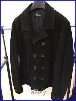 Blouson / veste cuir noir The Kooples daim, vintage