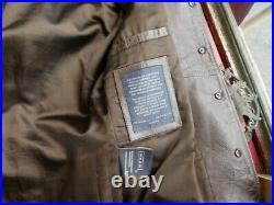 Blouson veste en cuir Chevignon vintage original taille S