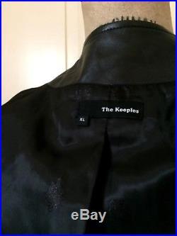 Blouson/veste en cuir (agneau) souple + superbe The Kooples tllXL (42) tbe