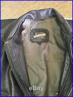 Blouson veste redskins cuir vintage unique