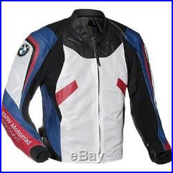 Bmw Biker Cuir Veste Hommes Moto Cuir Veste Vêtement En Cuir Motorbike Eu-48,58