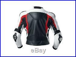 Bmw Biker Cuir Veste Moto Cuir Veste Hommes Vêtement En Cuir Motorbike Eu 50