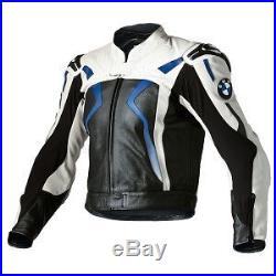 Bmw Biker Veste En Cuir Uomo Giacca In Pelle Moto Moto Chaqueta De Cuero Eu-56