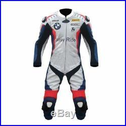 Bmw Easy Ride Moto Cuir Costume Courses Cuir MotoGp Veste Pantalon Armures