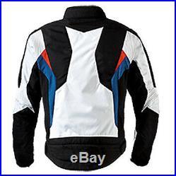 Bmw Hommes Biker Cuir Veste Vêtement En Cuir Motorbike Moto Cuir Veste Eu-48,60