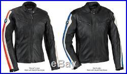 Bmw Hommes Motor Veste En Cuir Moto Chaqueta De Cuero Motorrad Leder Jacke Ce