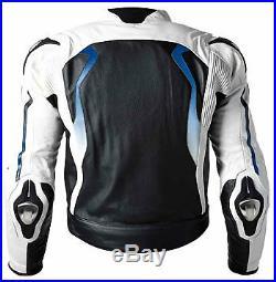 Bmw Vêtement En Cuir Motorbike Biker Cuir Bmw Veste Moto Cuir Veste Eu 52-60