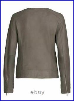 Bogner Jeans pour Femmes Designer Veste en Cuir Blouson INDORE / 100% D'Agneau