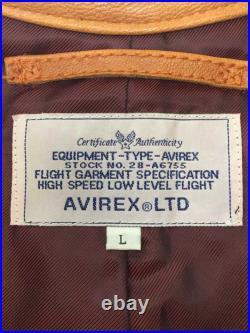 Brocante AVIREX Patchs / Cuir Vestes Blouson/L / 6101018 pour Hommes