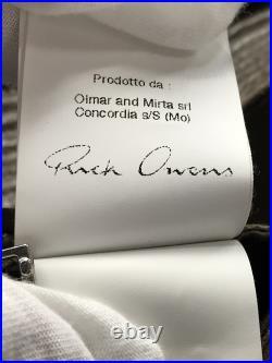 Brocante Rick Owens Veste Cuir Blouson / Xs / Mouton/ Marron/ Uni pour Hommes