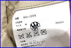 COMME DES GARCONS Runway Leather blouson jacket veste cuir baseball SIZE S