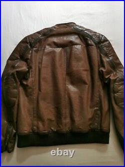 Chevignon Legend blouson cuir marron xl/L