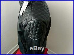 DIESEL LALETA Size XS Cuir Leather Jacket Blouson Jacke Biker Lederjacke Veste